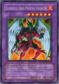 Yu-Gi-Oh!! - Elemental Hero Phoenix Enforcer (DP05-EN012) - Duelist Pack 5 Aster Phoenix - 1st Edition - Rare