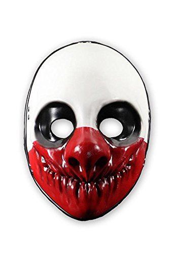 Amazon.com: Close Up Payday 2 Wolf Mask: Kitchen & Dining
