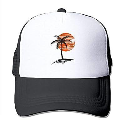 Tropical Tree Adjustable Baseball Cap Custom Snapback Mesh Trucker Hat by cxms