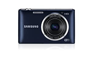 """Samsung ST150F 16.2MP Smart WiFi Digital Camera with 5x Optical Zoom and 3.0"""" LCD Screen (Black) by Samsung"""
