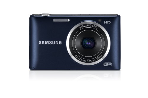 Samsung ST150F 16.2MP Smart WiFi Digital Camera with 5x Optical Zoom and 3.0'' LCD Screen (Black) by Samsung (Image #1)