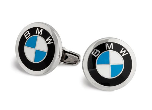 Enamel Genuine Cufflinks - BMW 80232208708 Roundel Cuff Links