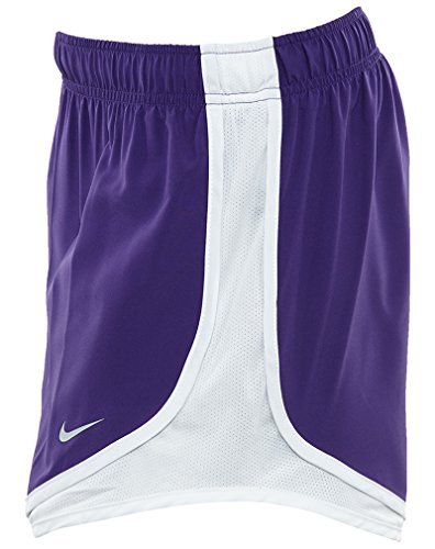 Damen Nike Dry Tempo Running Short Gericht Lila / Weiß / Weiß / Wolfsgrau
