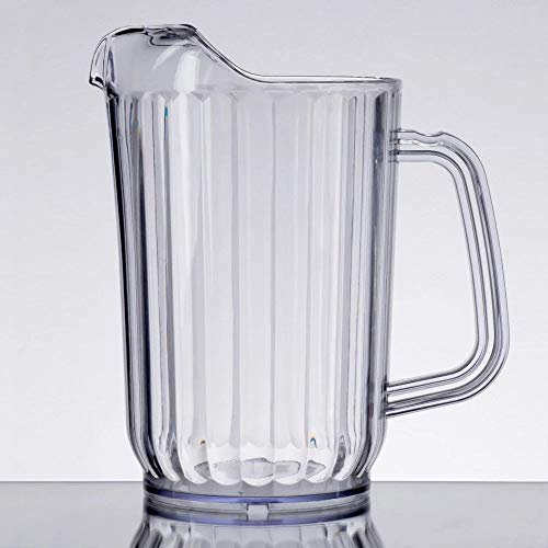 clear plastic water pitcher - 4