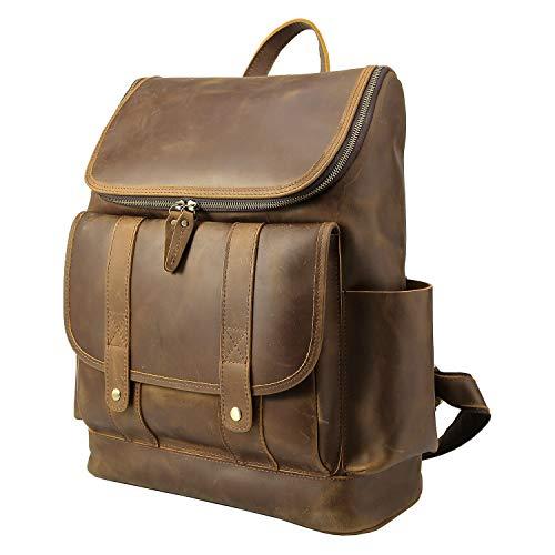 Texbo Vintage Backpack Briefcase Shoulder