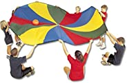 US Games 1040005 Parachute with 8 Handles