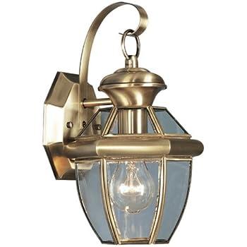 Livex Lighting 2051 01 Monterey 1 Light Outdoor Antique