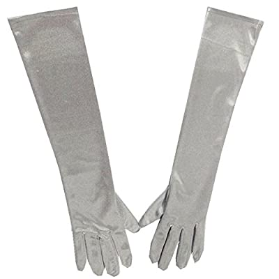 Solatin Top Grade Classic Adult Size Long Opera/Party Length Satin Gloves