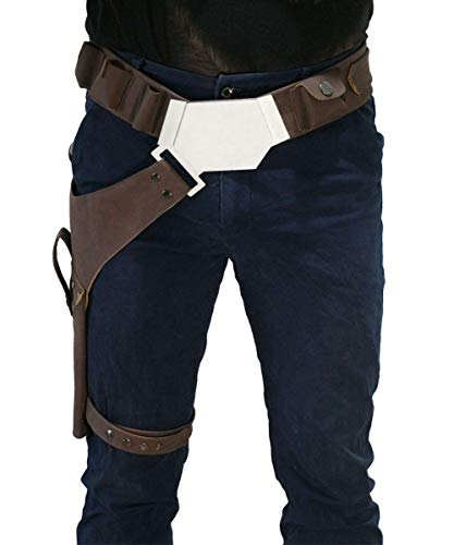 Mens Holster Han Belt Cosplay Porps For Halloween Costume -
