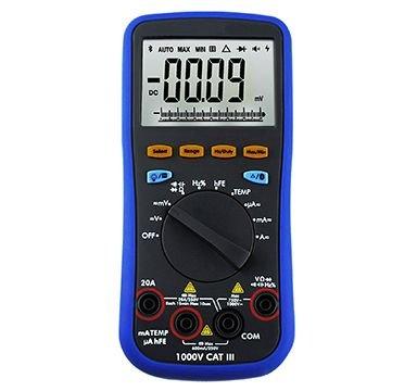 True RMS Digital Multimeter - Data Logger -Temperature Meter Remote Control LCD - 3 IN 1