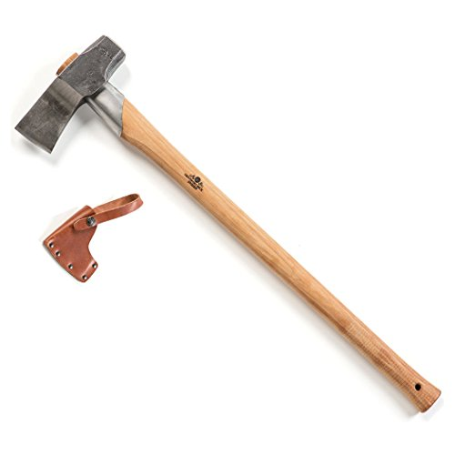 Gransfors Bruk Splitting Maul 31.50 Inch Wood Splitting Axe, 450 (Best Hand Axe For Splitting Wood)