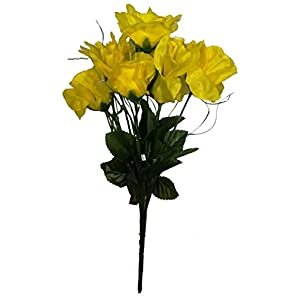Artificial Yellow Roses Bouquet 68