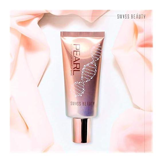 SWISS BEAUTY B W All Black Pearl Illuminator Liquid Makeup Base (Golden Pink)