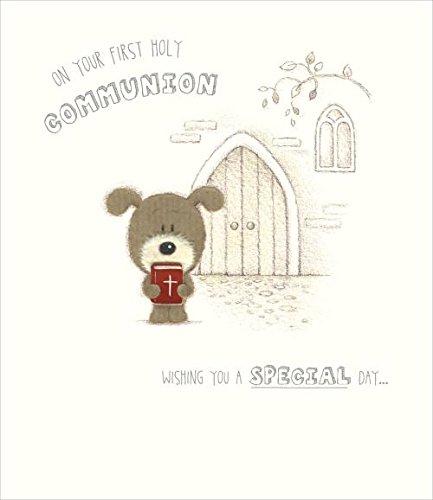 En su primera Comunión Tarjeta de felicitación: Amazon.es: Hogar