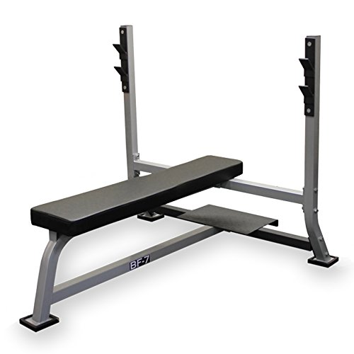 Valor Fitness BF-7 Olympic Bench with Spotter by Valor Fitness