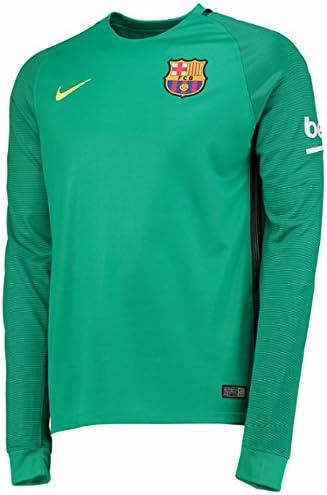 Nike FC Barcelona M LS Gk Stadium JSY Camiseta de Manga Larga, Hombre, Verde (Lucid Green/Volt), XXL: Amazon.es: Ropa y accesorios