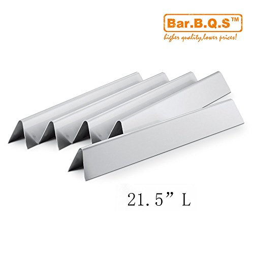 Bae.b.q.s Grill Valueparts 7534/7535 (5-pack) Stainless Steel Flavorizer Bars / Heat Plate Replacement for (Stainless Steel Flavor Bar)
