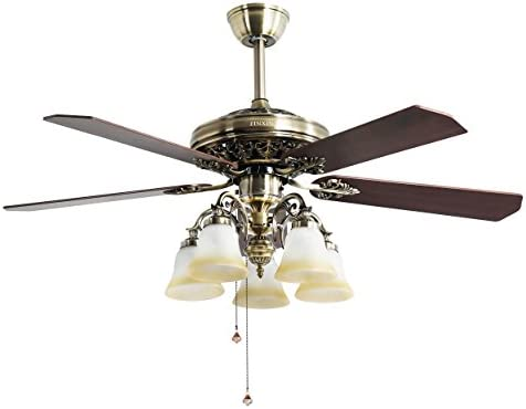 Indoor Ceiling Fan Light Fixtures - FINXIN FXCF03 (New Style) New Bronze Remote LED 52 Ceiling Fans For Bedroom,Living Room,Dining Room Including Motor,5-Light,5-Blades,Remote Switch - 10161832 , B074J1Z44Z , 285_B074J1Z44Z , 11109817 , Indoor-Ceiling-Fan-Light-Fixtures-FINXIN-FXCF03-New-Style-New-Bronze-Remote-LED-52-Ceiling-Fans-For-BedroomLiving-RoomDining-Room-Including-Motor5-Light5-BladesRemote-Switch-285_B074J1Z44Z , fado.vn