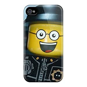 Shockproof Hard Phone Case For Iphone 4/4s (nAT12542NXWE) Allow Personal Design High Resolution The Lego Movie Pattern