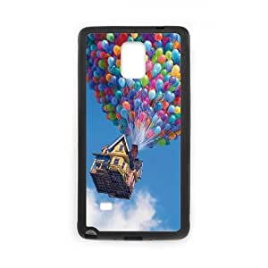 Up Samsung Galaxy Note 4 Cell Phone Case Black UD1361630