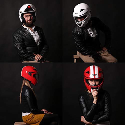 Bandit Jet-Helm Glanz schwarz kleine leichte Bauweise bequem