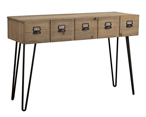 East at Main TT-US-PS315 Lyndon Console, Brown (Furniture Lyndon)
