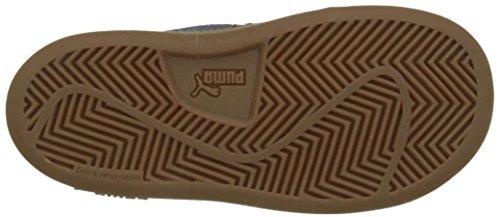 Puma Unisex-Kinder Smash V2 SD V Inf Sneaker Blau (Blue Indigo-Peacoat)