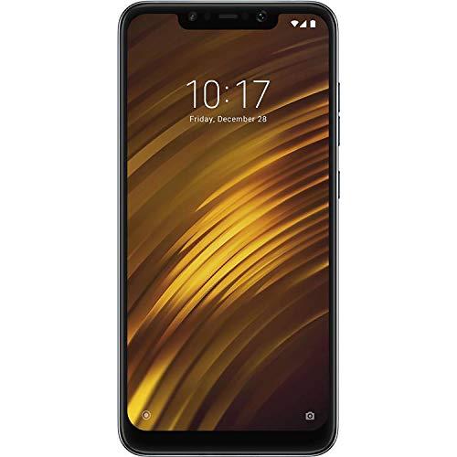 "Xiaomi Pocophone F1 128GB + 6GB RAM, Dual Camera, 6.18"" LTE Factory Unlocked Smartphone - Global Version (Steel Blue)"