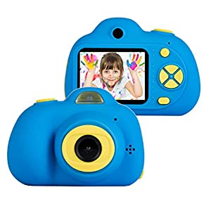 41lQ6jFEWEL. SS300  - omzer Kids Camera Toys for 5-9 Year Old Boys, Shockproof Digital Cameras for Child Boys Girls, Compact Camcorder Best…