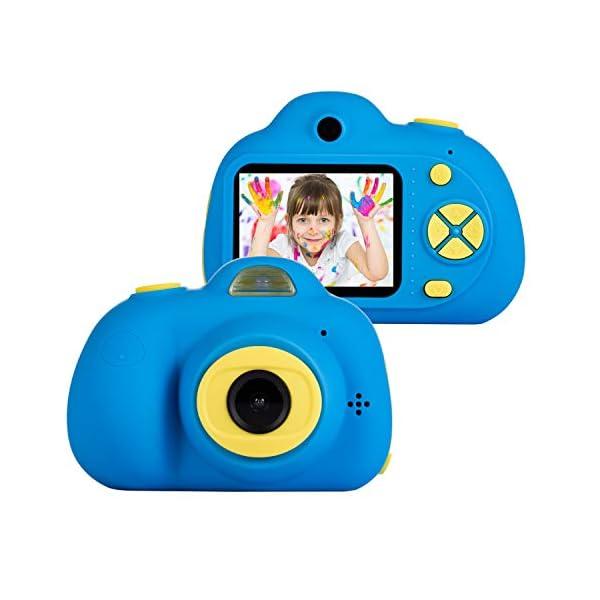 41lQ6jFEWEL. SS600  - omzer Kids Camera Toys for 5-9 Year Old Boys, Shockproof Digital Cameras for Child Boys Girls, Compact Camcorder Best…