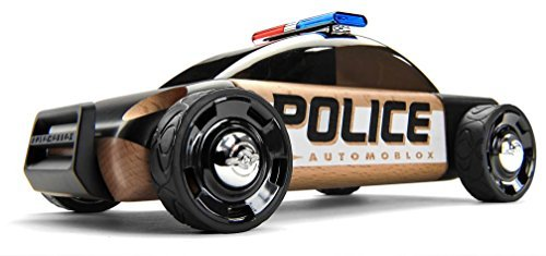 Automoblox S9 Police Car, Black by Automoblox