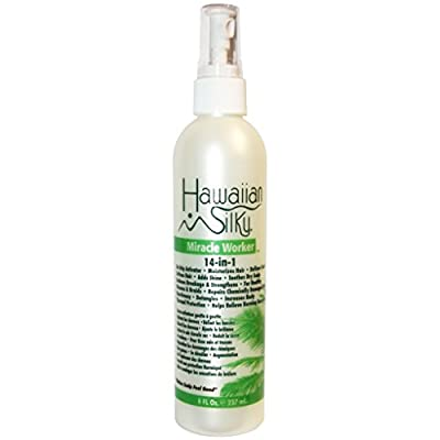Hawaiian Silky Leave in Conditioning Hydrated Hair Curl Wave Solution