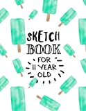 Sketch Book For 11 Year Old: Graph Paper Notebook
