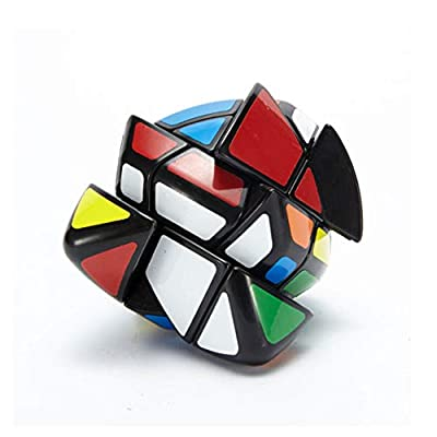 SUN-WAY Six Axis Rhombohedron Speed Cube 6-Axis Super Skewb Cube Magic Cube Puzzle Toys: Toys & Games