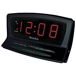 WESTCLOX 70012BK Instant-Set LED Alarm Clock Consumer electronics