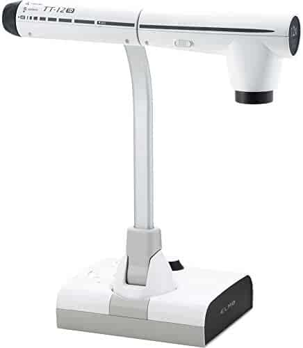 Elmo 1349 Model TT-12ID Interactive Document Camera, 96X Total Optical + Digital Zoom and 3.4MP CMOS Image Sensor, HDMI Input