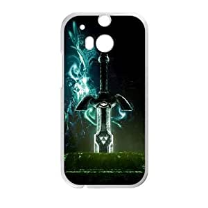 Durable Rubber Cases HTC One M8 Cell Phone Case White Dqojn The Sword in the Stone Protection Cover