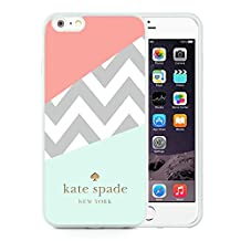Most Popular Custom iPhone 6plus Case Kate Spade New York Silicone TPU Phone Case For iPhone 6plus 5.5 Cover Case 108 White