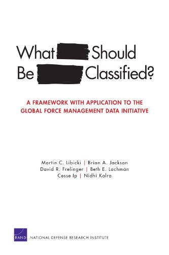 MG-989-JS What Should Be Classified? A Framework with Application to the Global Force Management Data Initiative (Rand C
