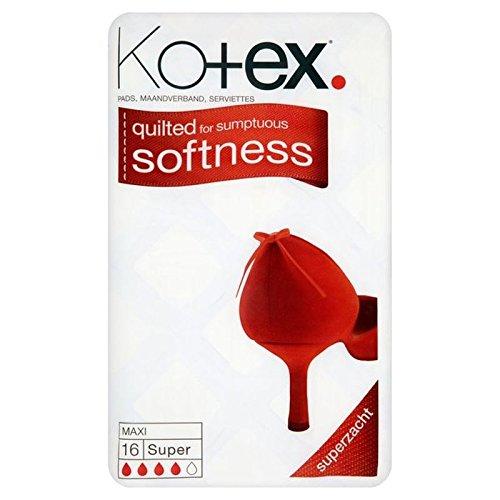 Kotex Maxi Pads Super 16 per pack