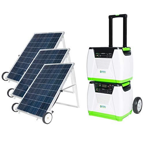 Nature's Generator 1800W Solar Powered Generator