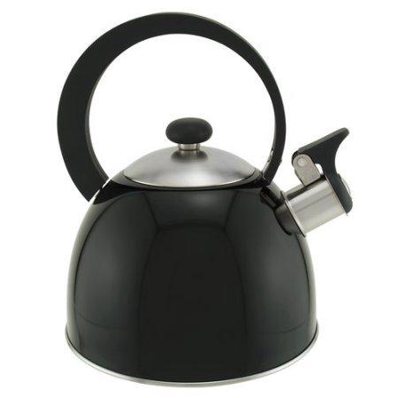Copco 1.3 Qt Tea Kettle, Black