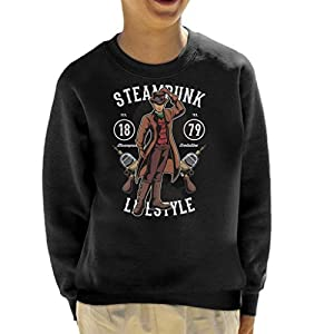 Steampunk Lifestyle Kid's Sweatshirt