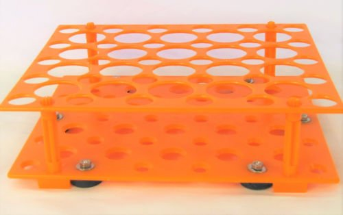 Magnetic Test Tube Rack for Oscillator Orbital Shaker Platform Stick to Iron Surface