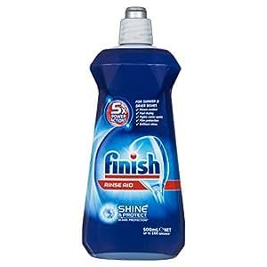 Finish Dishwashing Rinse Aid Regular Liquid, 500ml