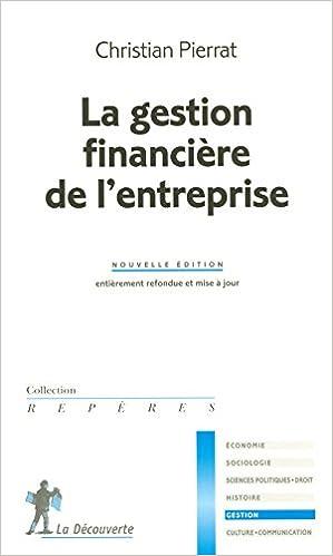Livre GESTION FINANCIERE ENTREPRISE pdf