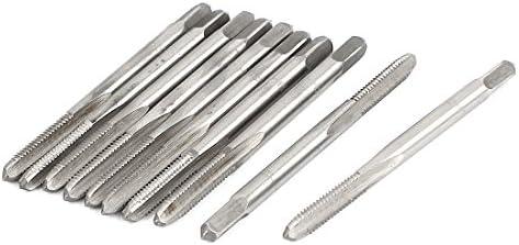 Aexit M4x Elektro- & Handwerkzeuge 0,5mm gerade 3-flute HSS Maschine Metric Stecker Handwerkzeuge Tippen 100