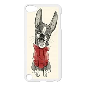 Best Quality [LILYALEX PHONE CASE] Pet Dogs FOR Ipod Touch 5 CASE-18