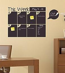 Chalkboard Calendar: This Week Calendar with Half Bubble Days
