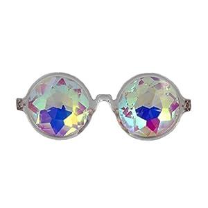 Amazon Prime Deals,Festivals Kaleidoscope Glasses Rainbow Prism Sunglasses Goggles